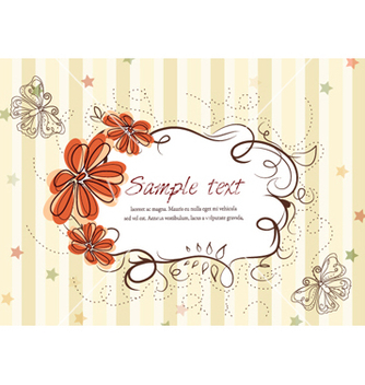 Free colorful spring frame vector - бесплатный vector #259423
