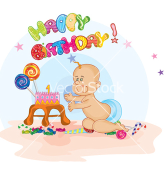 Free kids birthday party vector - Free vector #259873