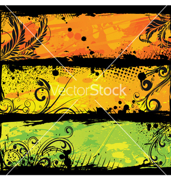 Free grunge web banners vector - Free vector #260113