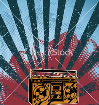 Free music background vector - Free vector #260233