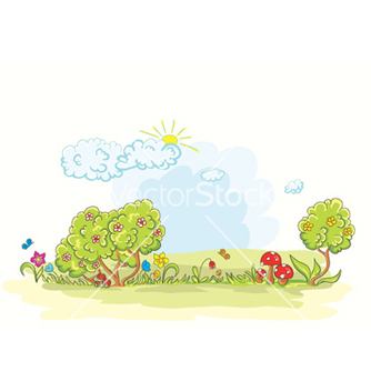 Free cartoon background vector - Free vector #260263