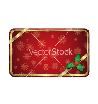 Free christmas gold banner vector - бесплатный vector #260313