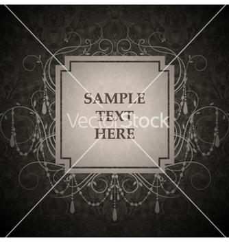 Free vintage label vector - Kostenloses vector #260463
