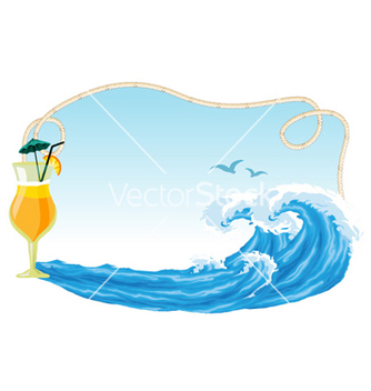 Free summer frame vector - Free vector #260513