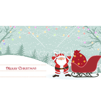 Free christmas greeting card vector - Free vector #260583