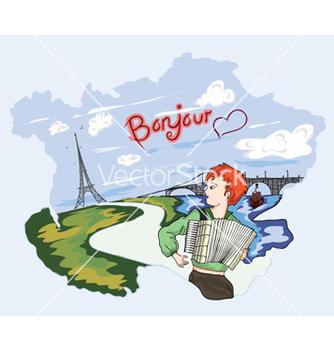 Free paris doodles vector - vector gratuit #260893