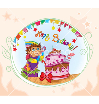 Free kids birthday party vector - Free vector #261433