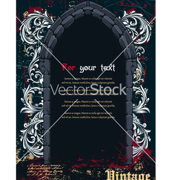 Free vintage frame vector - Free vector #261563
