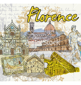 Free florence doodles vector - Free vector #261713