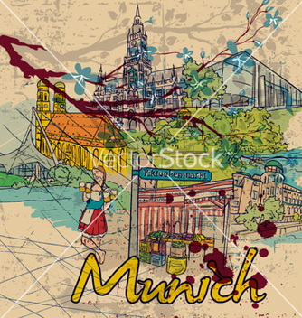 Free munich doodles vector - Free vector #261913