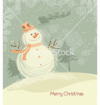 Free christmas background vector - Free vector #262063