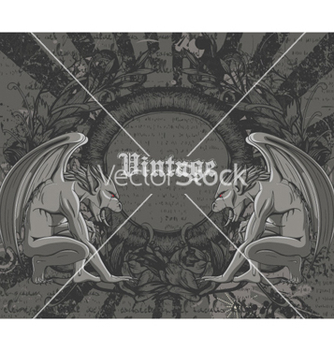 Free vintage background vector - Kostenloses vector #262223