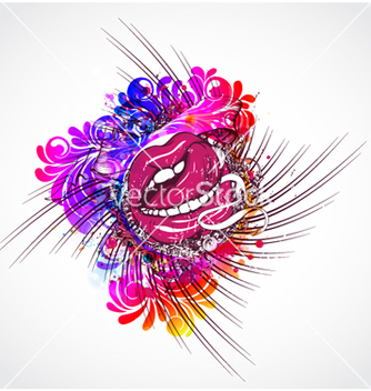 Free colorful abstract vector - Free vector #262563