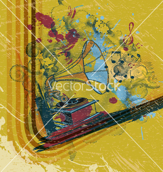 Free vintage concert poster vector - vector #262913 gratis