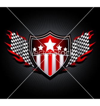 Free racing emblem vector - Free vector #263063