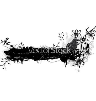 Free vintage with birds vector - Free vector #263283