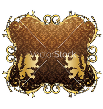 Free vintage gold emblem vector - Free vector #263653