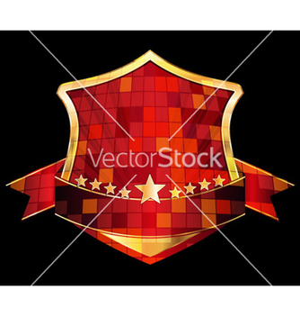 Free gold label vector - Free vector #264203
