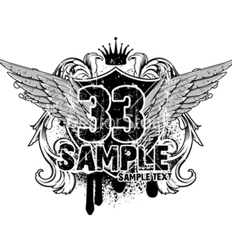 Free vintage emblem tshirt design vector - Free vector #264573