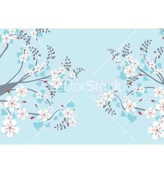 Free retro floral vector - Free vector #264763