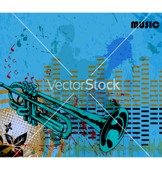 Free music background vector - vector gratuit #264853