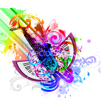 Free colorful concert poster vector - Free vector #264993