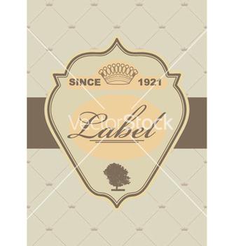 Free vintage label vector - Kostenloses vector #265963