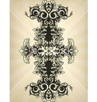 Free vintage floral vector - Kostenloses vector #266163