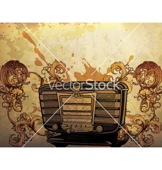 Free vintage music poster vector - Free vector #266263