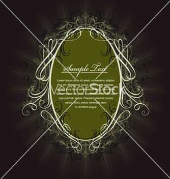 Free vintage label vector - бесплатный vector #266363