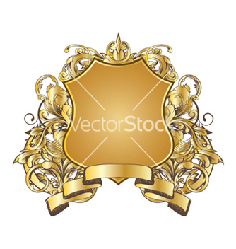 Free vintage gold emblem vector - Free vector #266433