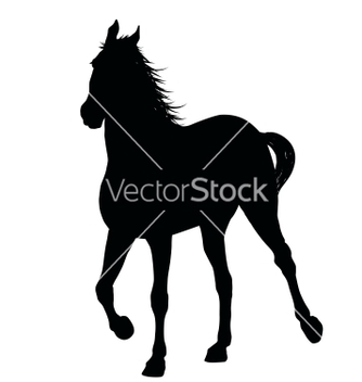 Free running horse vector - Free vector #266633