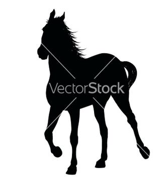 Free running horse vector - Kostenloses vector #266633
