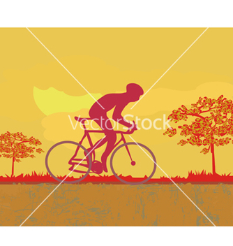 Free cycling grunge poster template vector - Kostenloses vector #266713