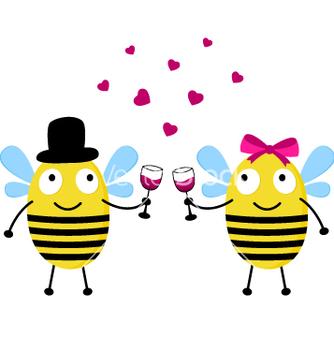 Free happy bees vector - Kostenloses vector #267003
