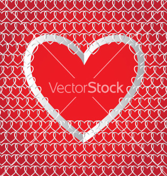 Free chains of paper hearts vector - vector gratuit #267043