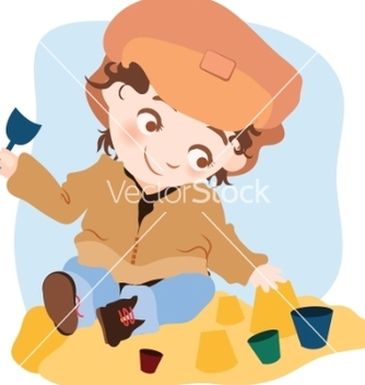 Free little boy vector - Free vector #267113