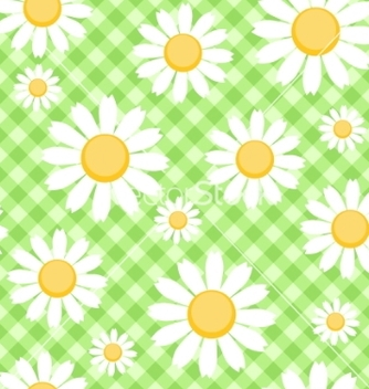 Free chamomile background vector - Free vector #267133