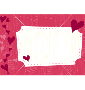 Free valentines greeting card vector - Kostenloses vector #267193