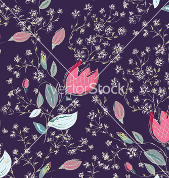 Free floral pattern vector - Kostenloses vector #267413
