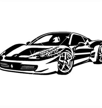 Free ferrari 458 italia vector - Free vector #267673