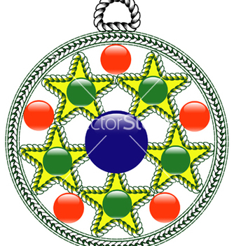 Free algerian pendant vector - Free vector #267703