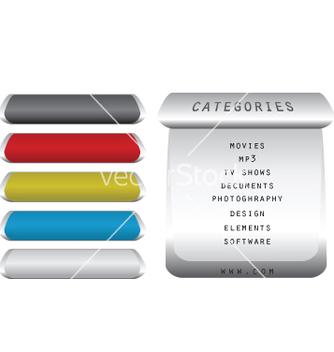 Free menu buttons vector - Kostenloses vector #267753
