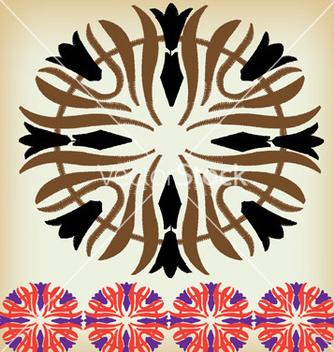 Free ethnic border vector - Kostenloses vector #267953