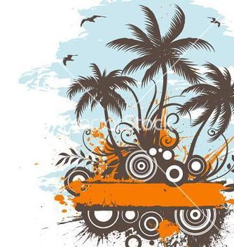 Free hot summer vector - vector gratuit #267983
