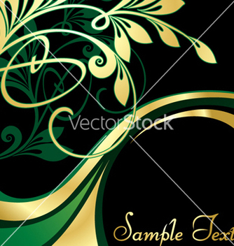 Free gold pattern vector - Free vector #268343