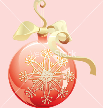 Free christmas ball vector - Free vector #268363
