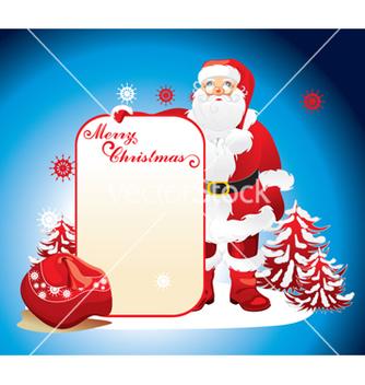 Free santa claus vector - vector gratuit #268393