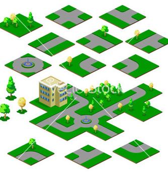 Free road map vector - Kostenloses vector #268773