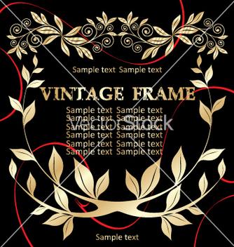 Free vintage frame vector - Kostenloses vector #268923